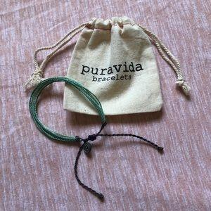 Blue Pura Vida Rope Beach Bracelet